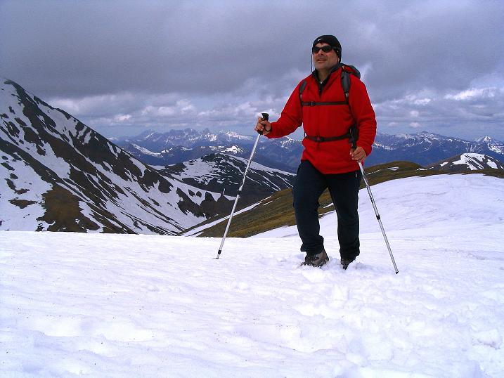 Foto: Andreas Koller / Wander Tour / Durch den Brandstätter Graben auf den Maierangerkogel (2356m) / Im Frühjahr auf Schnee zum Brandstätterkogel / 20.05.2008 00:34:34
