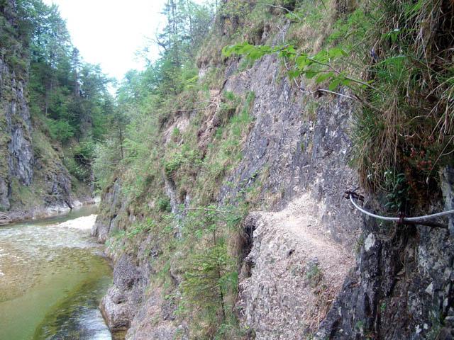 Foto: Grasberger Gerhard / Mountainbike Tour / Bike & Hike im Hintergebirge - Triftsteig / Triftsteig / 27.05.2008 09:17:15