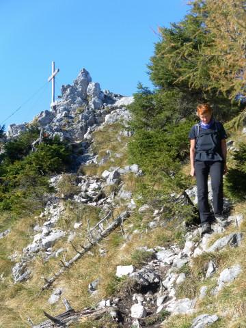 Foto: Wolfgang Lauschensky / Mountainbike Tour / Bike & Hike am Laudachsee / unterm Katzensteingipfel / 24.10.2012 15:32:58