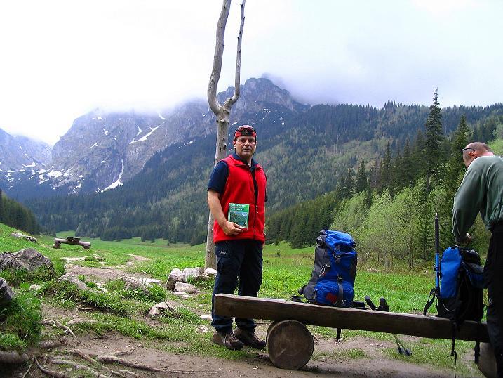 Foto: Andreas Koller / Wander Tour / Dolina Matej Laki und Malolaczniak (2096 m) / Rast auf der Mata Polanka / 29.05.2008 01:43:03