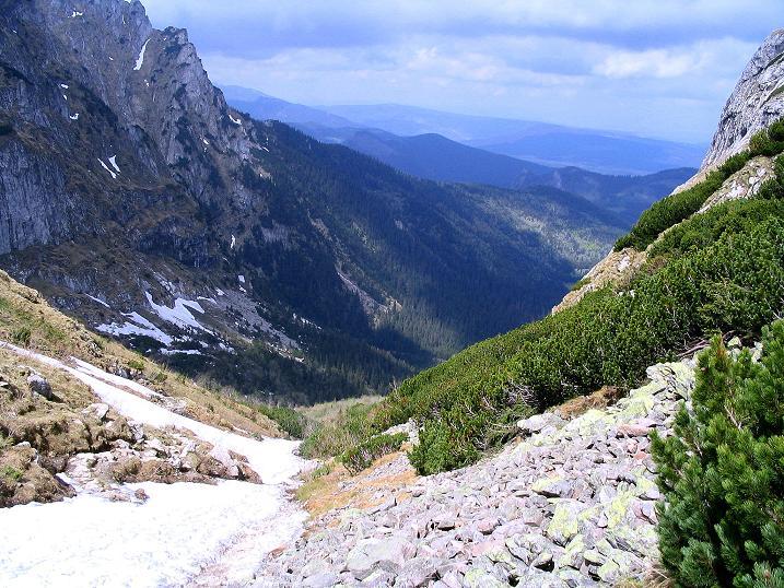 Foto: Andreas Koller / Wander Tour / Dolina Matej Laki und Malolaczniak (2096 m) / Anstieg zum Przelecz Kondracka / 29.05.2008 01:41:00