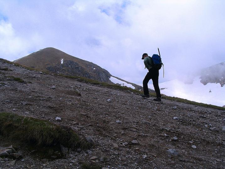 Foto: Andreas Koller / Wander Tour / Dolina Matej Laki und Malolaczniak (2096 m) / Die letzten Meter im ANstieg zur Kondracka Kopa / 29.05.2008 01:37:54