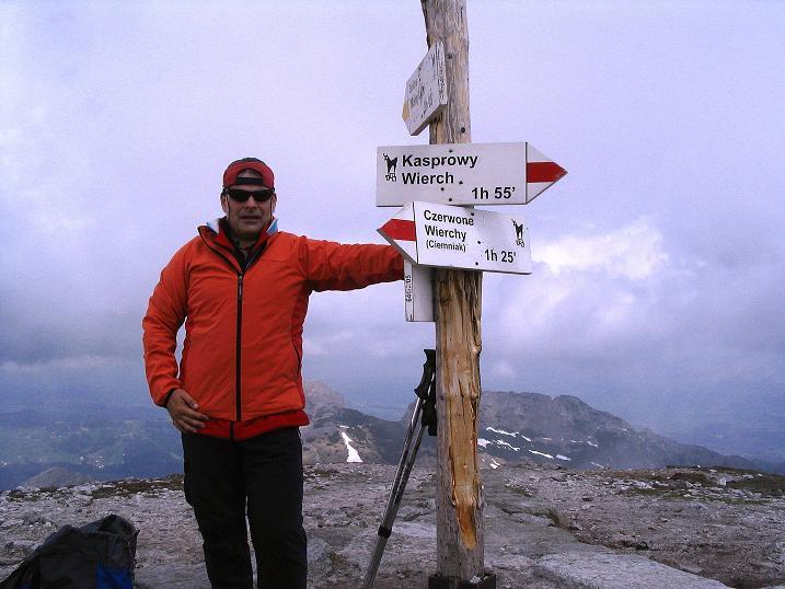 Foto: Andreas Koller / Wander Tour / Dolina Matej Laki und Malolaczniak (2096 m) / Auf der Kondracka Kopa / 29.05.2008 01:37:13