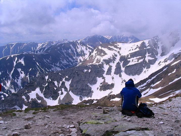 Foto: Andreas Koller / Wander Tour / Dolina Matej Laki und Malolaczniak (2096 m) / Blick von der Kondracka Kopa in die Westliche Tatra / 29.05.2008 01:35:53