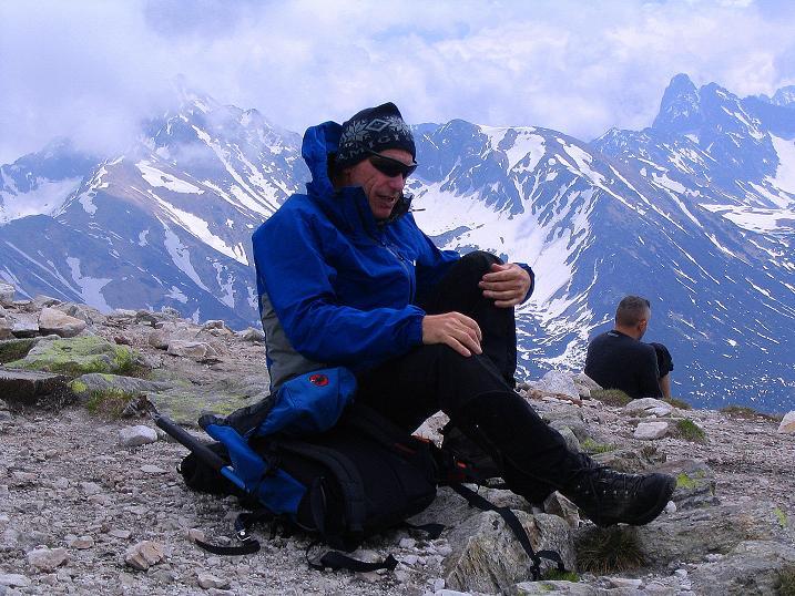 Foto: Andreas Koller / Wander Tour / Dolina Matej Laki und Malolaczniak (2096 m) / Rast auf der Kondracka Kopa / 29.05.2008 01:35:28