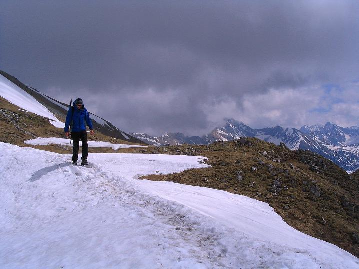 Foto: Andreas Koller / Wander Tour / Dolina Matej Laki und Malolaczniak (2096 m) / Übergang von der Kondracka Kopa zum Malolaczniak. / 29.05.2008 01:34:51