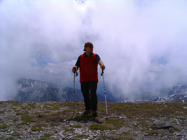 Foto: Andreas Koller / Wander Tour / Dolina Matej Laki und Malolaczniak (2096 m) / Vom Malolaczniak Blick nach S in die Slowakei / 29.05.2008 01:34:28