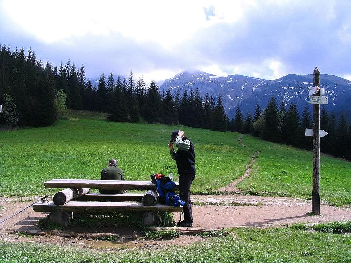 Foto: Andreas Koller / Wander Tour / Dolina Matej Laki und Malolaczniak (2096 m) / Am Przelecz Przyslop Mietusa / 29.05.2008 01:29:44