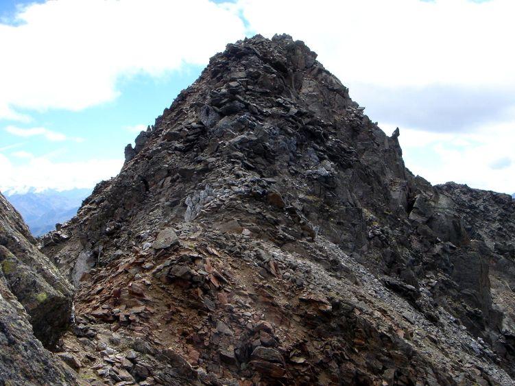 Foto: Manfred Karl / Wander Tour / Durch das Istalanztal auf den Hexenkopf / Gipfelaufbau / 29.05.2008 20:36:29