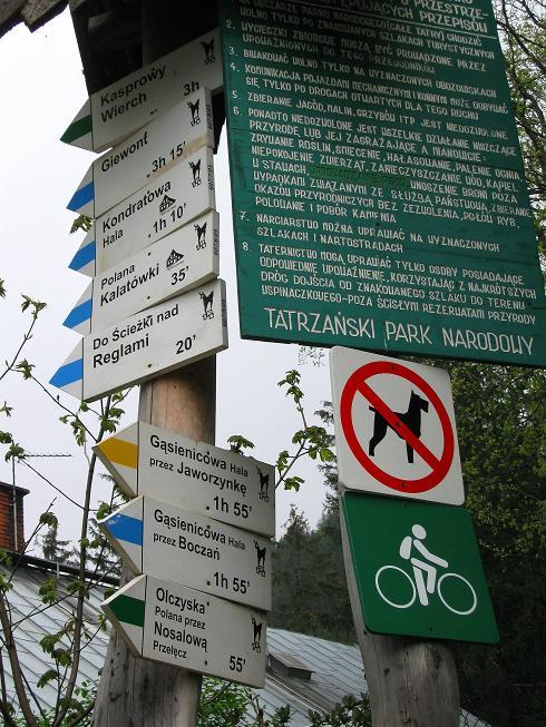 Foto: Andreas Koller / Wander Tour / Swinica (2301m) - Paradegipfel über Zakopane / Ausgangspunkt Kuznice am Eingang zum Nationalpark / 29.05.2008 23:04:54