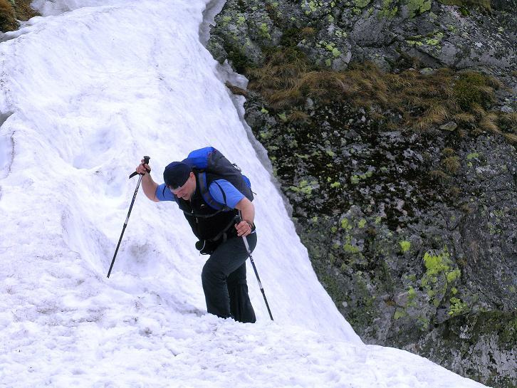 Foto: Andreas Koller / Wander Tour / Swinica (2301m) - Paradegipfel über Zakopane / Ausstieg aus der steilen Rinne / 29.05.2008 22:57:53
