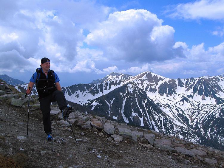 Foto: Andreas Koller / Wander Tour / Swinica (2301m) - Paradegipfel über Zakopane / Am Swinicka Przelecz mit Blick in die Tatra-Berge  / 29.05.2008 22:57:31