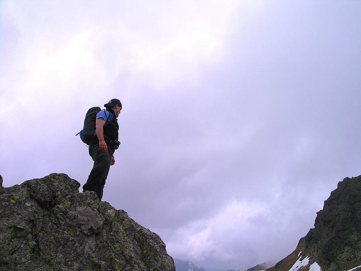 Foto: Andreas Koller / Wander Tour / Swinica (2301m) - Paradegipfel über Zakopane / Ausgesetztes Felsgelände / 29.05.2008 22:53:13
