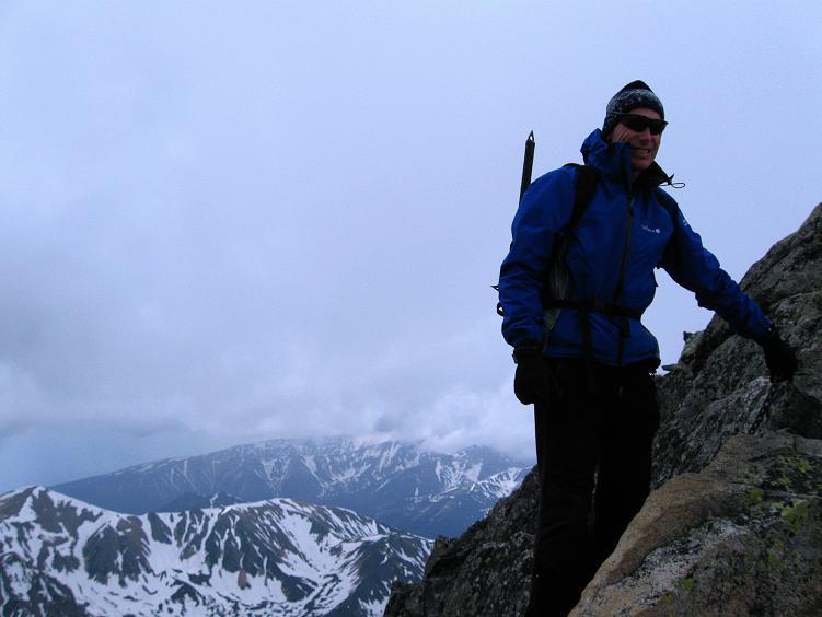 Foto: Andreas Koller / Wander Tour / Swinica (2301m) - Paradegipfel über Zakopane / Abstieg im luftigen Gelände / 29.05.2008 22:50:52