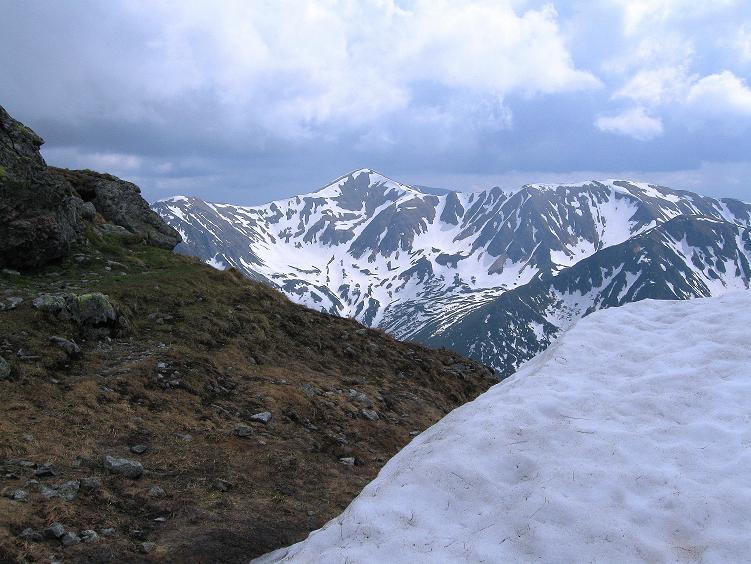 Foto: Andreas Koller / Wander Tour / Swinica (2301m) - Paradegipfel über Zakopane / Blick in die Westliche Tatra / 29.05.2008 22:49:03
