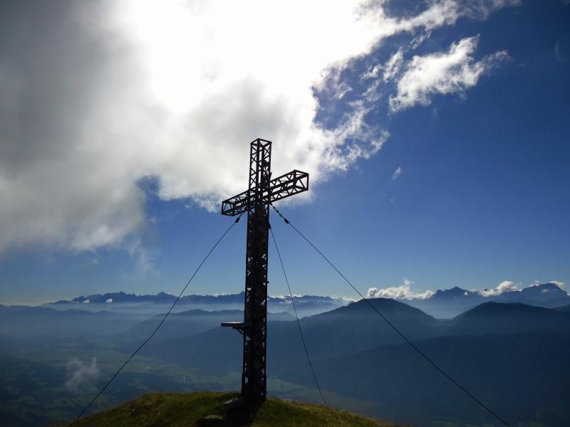 Foto: Günter Siegl / Wander Tour / Über die Graslitzen nach Förolach / Gipfel Graslitzen / 27.10.2016 23:37:56