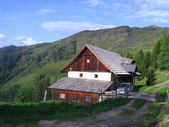 Foto: Andreas Koller / Wander Tour / Gmeineck - Trebesinger Hausberg (2592 m) / Ausgangspunkt Gamperhütte / 02.06.2008 21:29:23