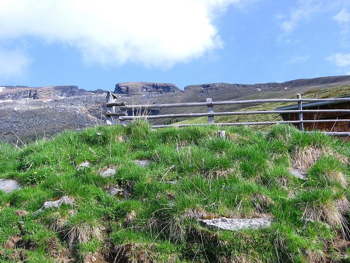 Foto: Andreas Koller / Wander Tour / Gmeineck - Trebesinger Hausberg (2592 m) / Wie ein Tafelberg sieht der Stoder aus (2433 m) / 02.06.2008 21:27:53