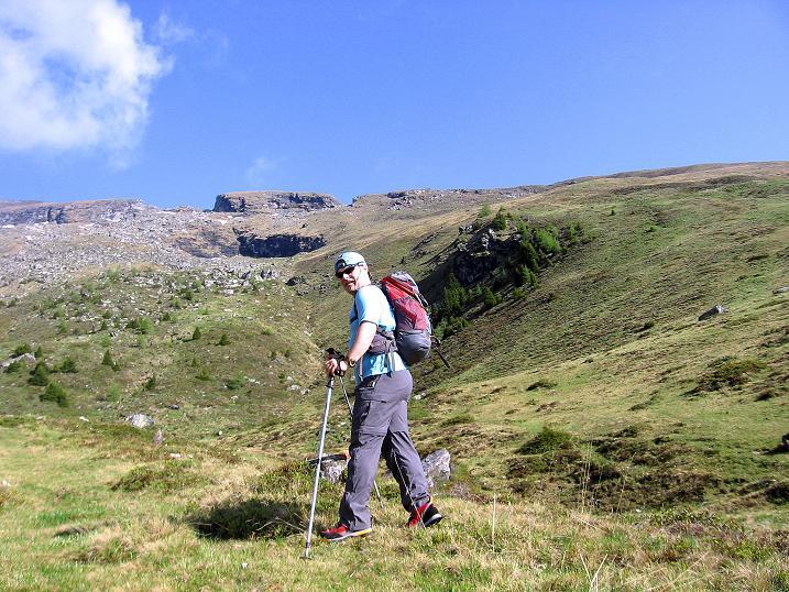 Foto: Andreas Koller / Wander Tour / Gmeineck - Trebesinger Hausberg (2592 m) / Unterwegs unterhalb des Stoder (2433 m) / 02.06.2008 21:25:46