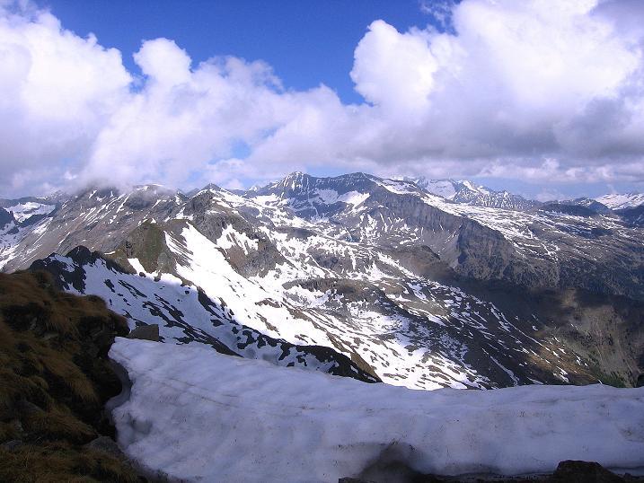 Foto: Andreas Koller / Wander Tour / Gmeineck - Trebesinger Hausberg (2592 m) / Ein toller Blick ins Herz der Reißeckgruppe / 02.06.2008 21:17:35