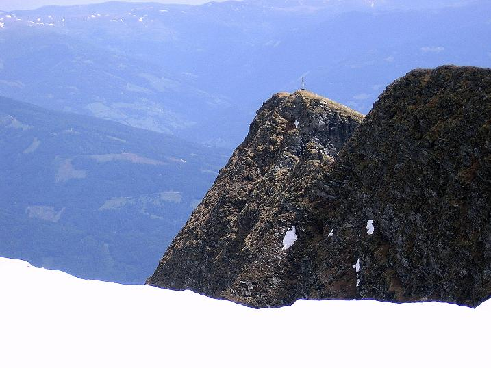 Foto: Andreas Koller / Wander Tour / Gmeineck - Trebesinger Hausberg (2592 m) / Blick vom SO-Rücken zum Stoder (2433 m) / 02.06.2008 21:07:59