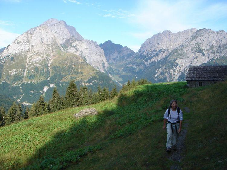 Foto: Manfred Karl / Wander Tour / Polinik über die Spielbodenalmen / Untere Spielbodenalm / 02.06.2008 22:54:28