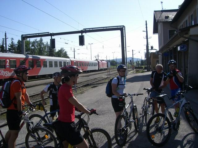 Foto: Jürgen Lindlbauer / Mountainbike Tour / Von Summerau nach Linz / Bahnhof Summerau / 02.06.2008 23:21:56