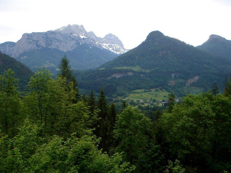 Foto: Manfred Karl / Wander Tour / Vom Soderbauer auf das Schwarzeck / Gruppe der Häuslhörner / 03.06.2008 08:44:53