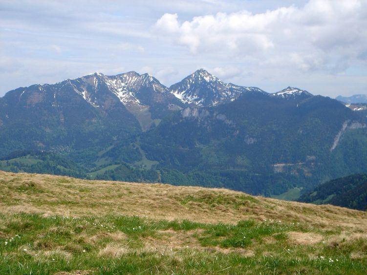 Foto: Manfred Karl / Wander Tour / Vom Soderbauer auf das Schwarzeck / Von der freien Gipfelfläche hat man eine herrliche Rundsicht. / 03.06.2008 08:33:26