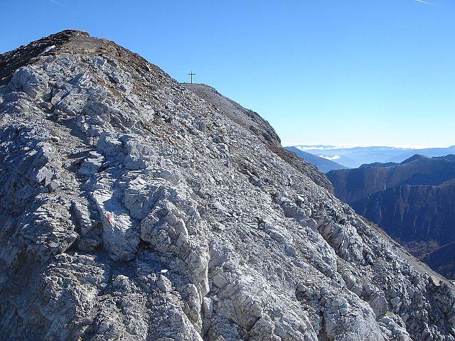 Foto: Manfred Karl / Wander Tour / Weißeck aus dem Riedingtal / Felsiger Gipfelanstieg / 03.06.2008 19:52:16