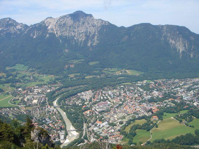 Foto: Manfred Karl / Wander Tour / Alpgartental Umrahmung / Bad Reichenhall mit dem Staufen / 05.06.2008 17:15:08