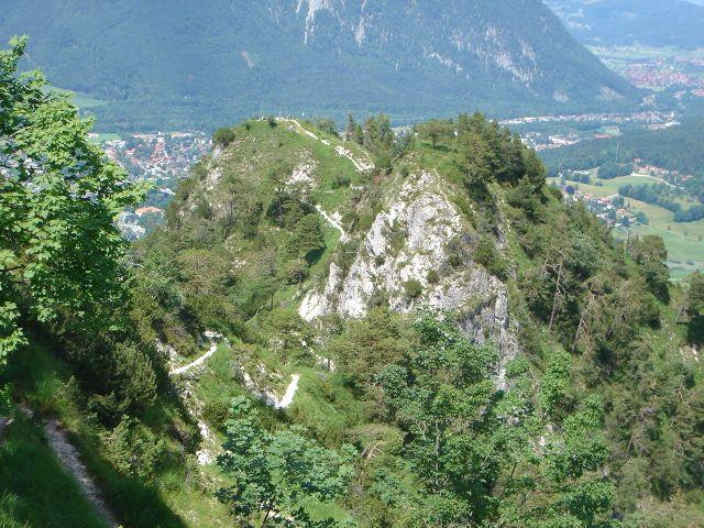 Foto: Manfred Karl / Wander Tour / Alpgartental Umrahmung / Dötzenkopf, schöner Rast- und Aussichtspunkt / 05.06.2008 17:13:46