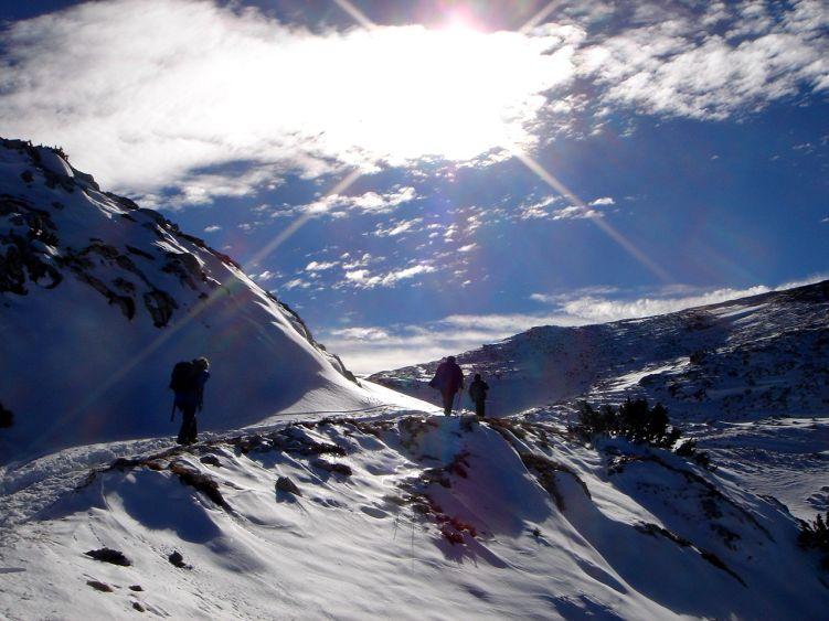 Foto: Manfred Karl / Wander Tour / Auf einen Aussichtsberg der Extraklasse – Monte Altissimo di Nago / Aufstieg in die flache Mulde zwischen Vor- und Hauptgipfel / 05.06.2008 20:53:09