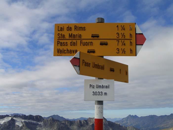 Foto: vince 51 / Wander Tour / Zwei Gipfel-Rundwanderung vom Umbrailpass / Piz Umbrail, Gipfel / 05.06.2008 22:04:12
