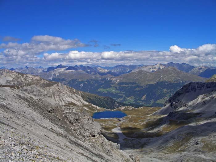 Foto: vince 51 / Wander Tour / Zwei Gipfel-Rundwanderung vom Umbrailpass / Lai da Rims / 05.06.2008 21:58:29