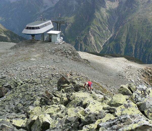 Foto: vince 51 / Wander Tour / Von Mandarfen auf den Grubengrat / Bergstation Grubengrat / 06.06.2008 22:44:59