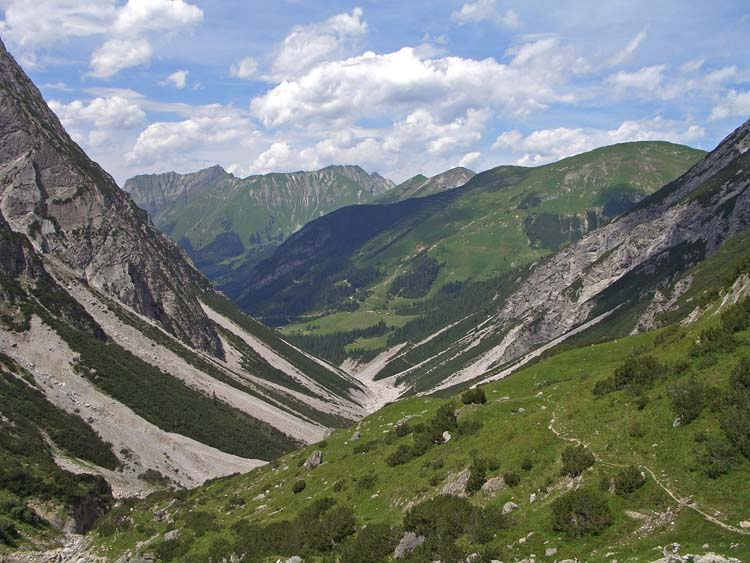 Foto: vince 51 / Wander Tour / Von Pfafflar auf die Reichspitze / Fundaistal / 07.06.2008 19:07:54