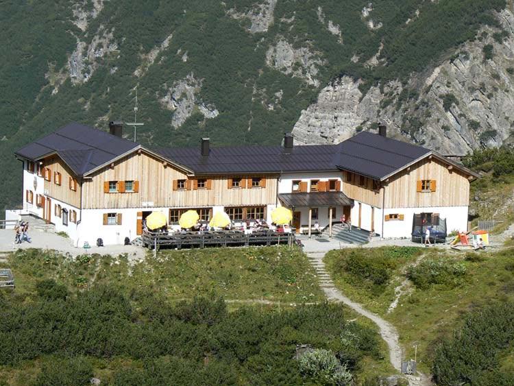 Foto: vince 51 / Wander Tour / Von Pfafflar auf die Reichspitze / Hanauer Hütte / 07.06.2008 19:03:10
