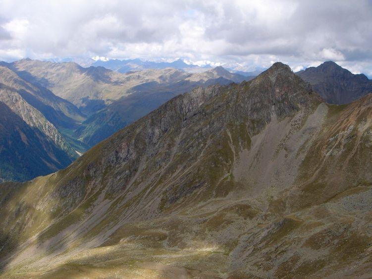 Foto: Manfred Karl / Wander Tour / Über die Straßalm auf den Gölbner / Blick zum Rappler, der nur mit Kletterei erreichbar ist / 08.06.2008 19:21:15