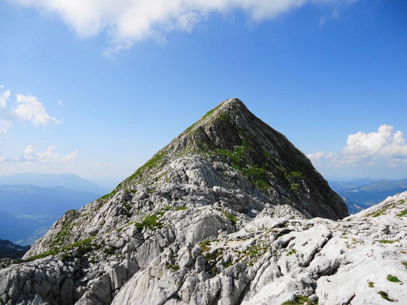 Foto: Günter Siegl / Wander Tour / Knallstein über die Stefan Schatzl Hütte / Gipfelaufbau Knallstein / 02.08.2015 20:07:09