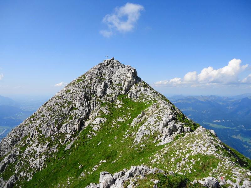 Foto: Günter Siegl / Wander Tour / Knallstein über die Stefan Schatzl Hütte / Südgrat Knallstein / 02.08.2015 20:07:27