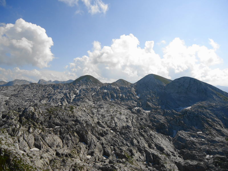 Foto: Günter Siegl / Wander Tour / Knallstein über die Stefan Schatzl Hütte / Blick zu den Wieselsteinen / 02.08.2015 20:05:35