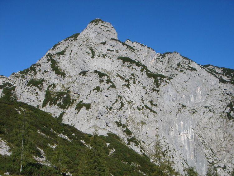 Foto: Manfred Karl / Wander Tour / Knallstein über die Stefan Schatzl Hütte / Platteneck beim Aufstieg zum Knallboden / 08.06.2008 19:54:49