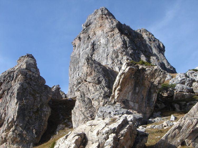 Foto: Manfred Karl / Wander Tour / Auf dem Hias Wallner Steig zum Haßeck / Hochalpiner Klettergarten mit einigen schönen Routen / 14.06.2008 16:39:51