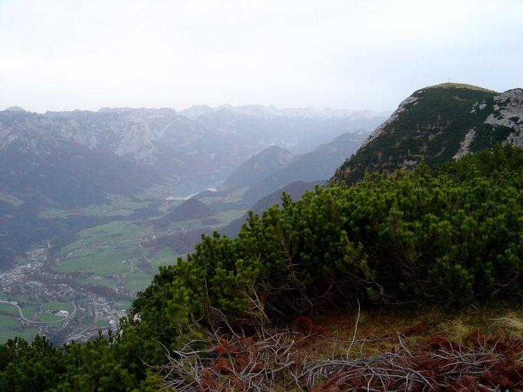 Foto: Manfred Karl / Mountainbike Tour / Über die Gsprangalm auf den Zinken / Blick vom Feuerkogel zum Zinken / 14.06.2008 15:55:49