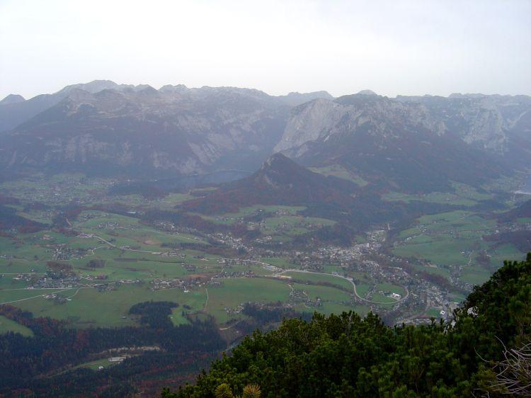 Foto: Manfred Karl / Mountainbike Tour / Über die Gsprangalm auf den Zinken / Ausseerland mit dem westlichen Toten Gebirge / 14.06.2008 15:55:24