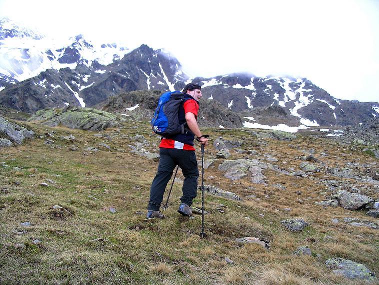 Foto: Andreas Koller / Wander Tour / Über die Pilsbergalm auf den Soyspitz (3030 m) / Anstieg zur Soyscharte / 17.06.2008 17:25:02