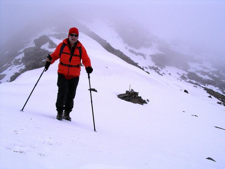 Foto: Andreas Koller / Wander Tour / Über die Pilsbergalm auf den Soyspitz (3030 m) / In der Soyscharte / 17.06.2008 17:23:31