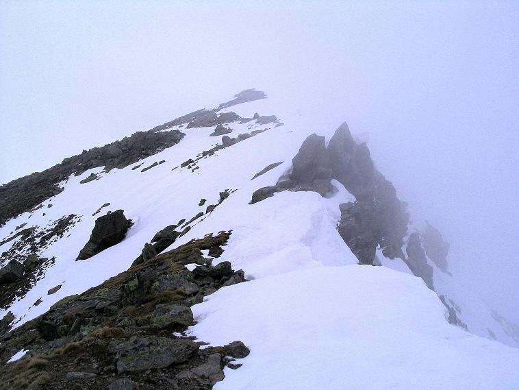 Foto: Andreas Koller / Wander Tour / Über die Pilsbergalm auf den Soyspitz (3030 m) / Der NO-Grat zum Soyspitz / 17.06.2008 17:23:19
