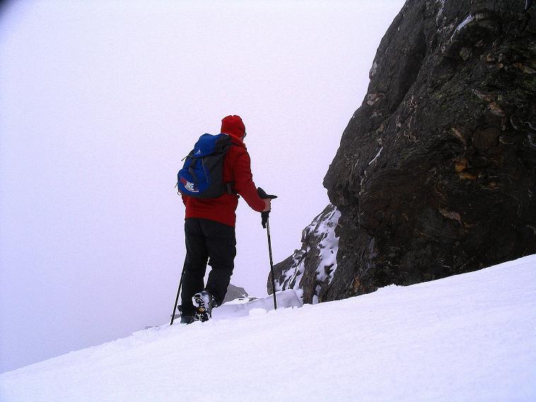 Foto: Andreas Koller / Wander Tour / Über die Pilsbergalm auf den Soyspitz (3030 m) / Am NO-Grat / 17.06.2008 17:21:24